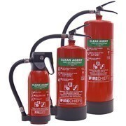 Shop our clean agent fire extinguishers and automatic fire extinguishers for reliable protection suitable to use on sensitive equipment.