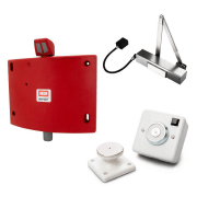 Shop our range of fire door holders to keep doors shut in the event of a fire and ensure it is kept open to ventilate when needs be
