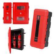 Shop our range of fire extinguisher cabinets to safely store your fire equipment and fire extinguishers