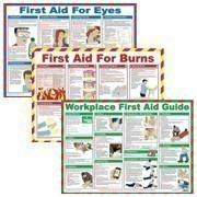 First aid posters will ensure the health and well-being of employees and visitors by providing simple and clear guidance.