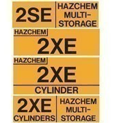 Hazchem Warning Signs