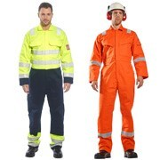 Protecting you from dirt and oil at work, our range of hi-vis coveralls includes those suitable for providing flame resistance and have anti-static properties.