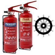 Shop our range of MED approved fire extinguishers, making them the perfect marina, yacht and boat fire extinguisher.
