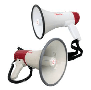 Shop our range of megaphones to ensure you can gather those in your buildings quickly and safely in the event of a fire