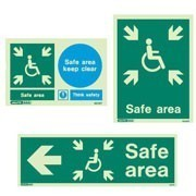 Safe Refuge Disability Signs
