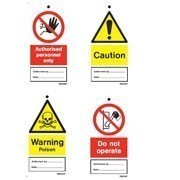 Safety Tie Labels