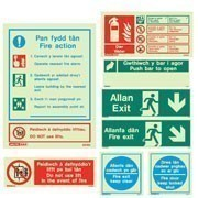 Welsh Language Signs