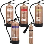 Shop our antique copper fire extinguishers, ideal for modern bars, shops and restaurants