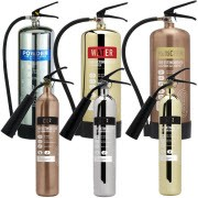 Shop our range of designer fire extinguishers to protect your building and equipment from spreading fires with a sense of style