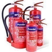 Shop our range of powder fire extinguishers to protect your building and equipment from spreading fires