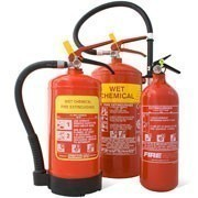 Shop our range of wet chemical fire extinguishers to protect your building and equipment from spreading fires