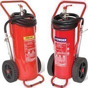 Shop our range of wheeled fire extinguishers to allow you to manoeuvre your extinguishers with ease