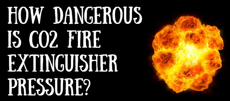 co2 fire extinguisher pressure