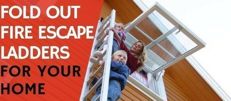 Fold Out Fire Escape Ladders For Your Home